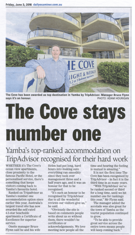 The Cove in the news